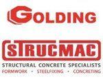 Golding Strucmac Logos