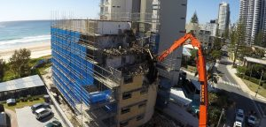 Demolition of Northcliffe Terrace Building