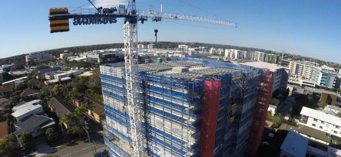 Brisbane CBD Scaffolding