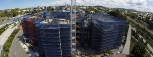 Brisbane Commercial Scaffolding Project